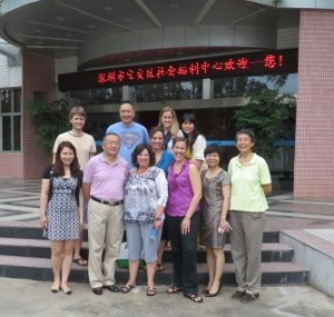 MAA Staff in China